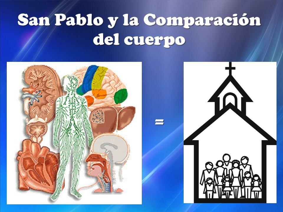 San Pablo y la Comparación del cuerpo =