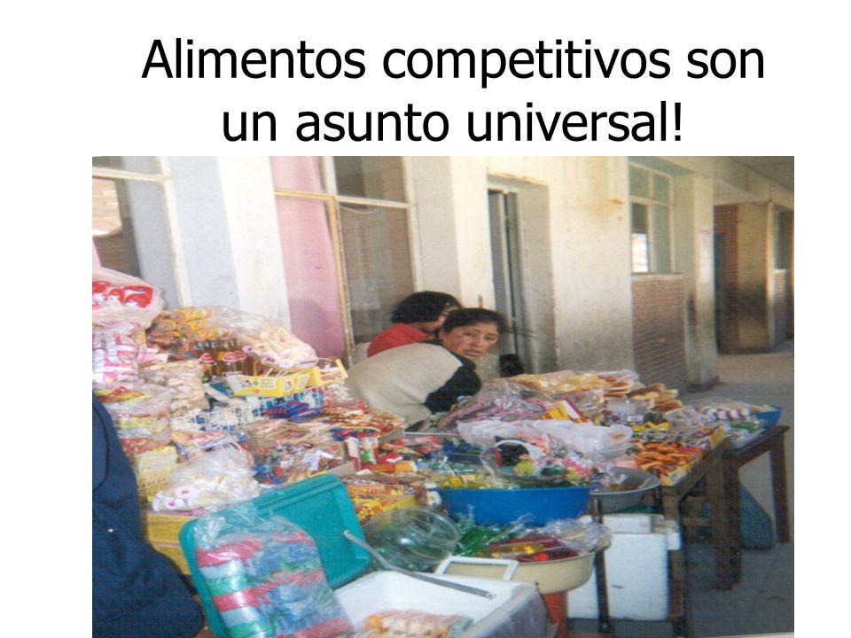 Alimentos competitivos son un asunto universal!