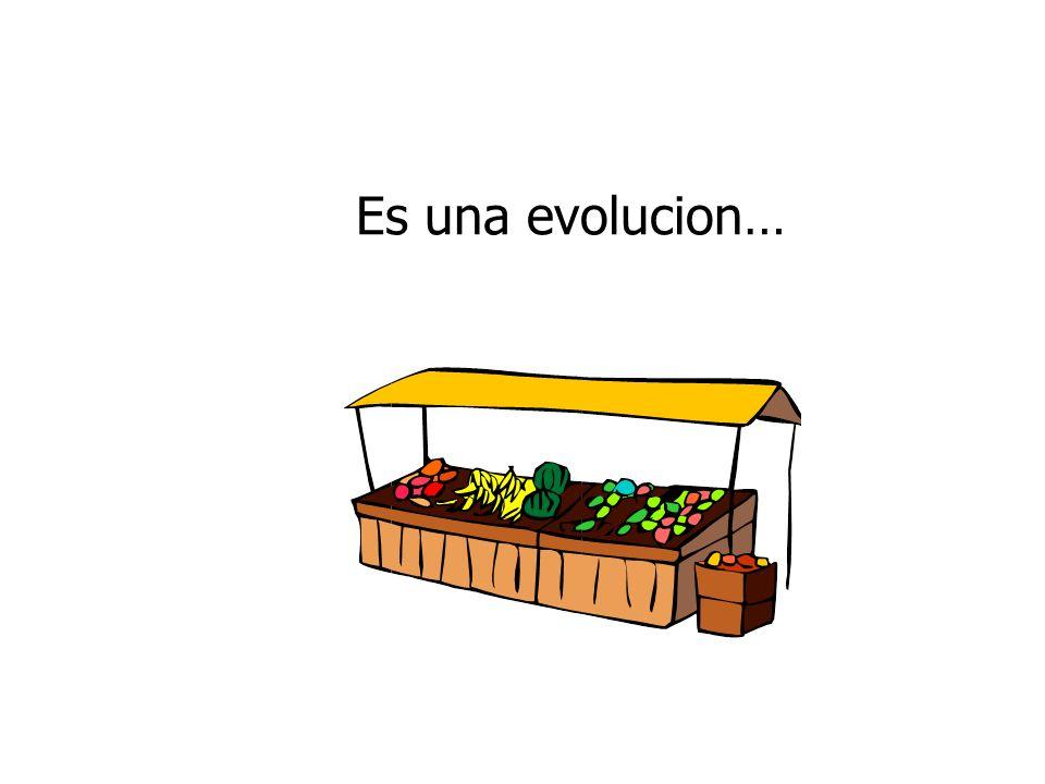 Es una evolucion…