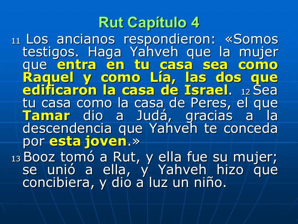 d) Paralelos Bíblicos BENDICIONES 1) La primera parte de la bendición evocan a Raquel y Lía, constructoras de la casa de Israel.