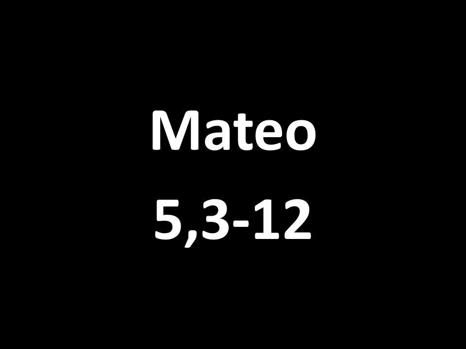 Mateo 5,3-12