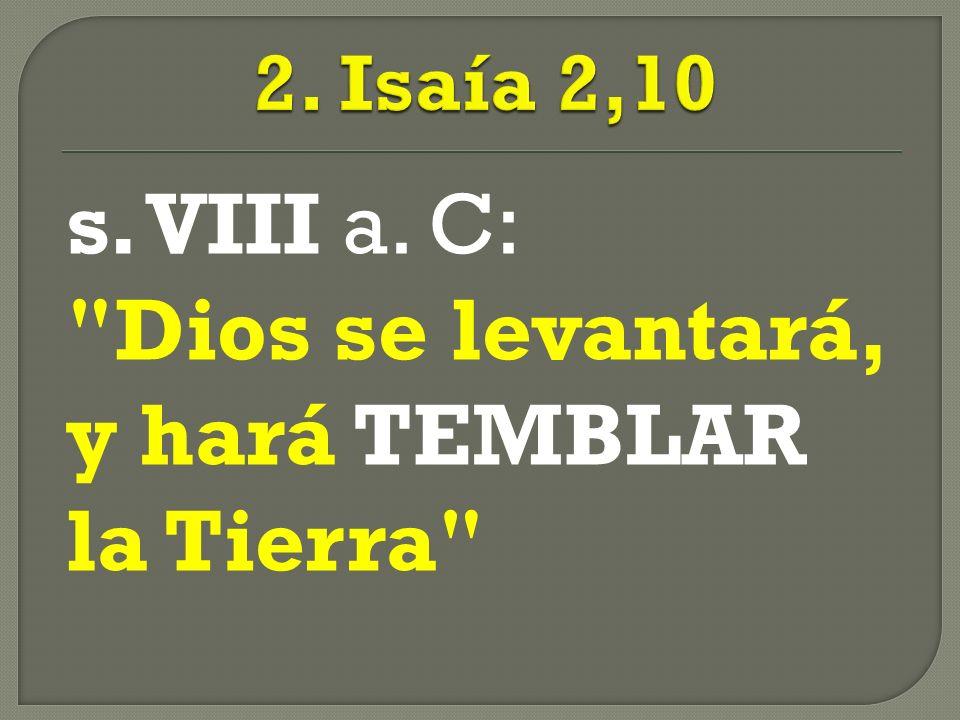 s. VIII a. C: