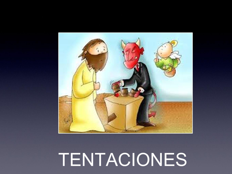 Lc 4,1-13 1 Y Jesús lleno de Espíritu Santo, volvió del Jordán y era guiado por el Espíritu en el desierto 2 cuarenta días siendo tentado por el diablo, y no comió nada durante aquellos días, y cuando concluyeron sintió hambre.