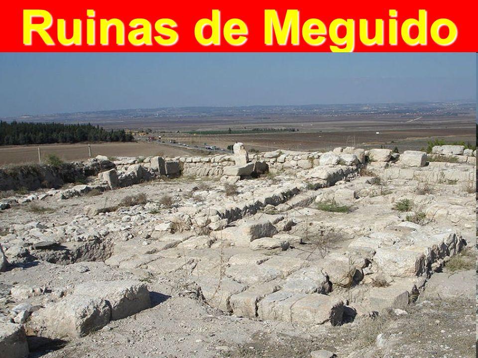 Ruinas de Meguido