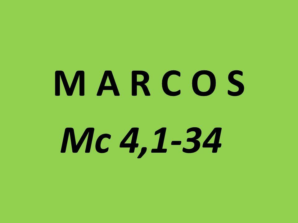 M A R C O S Mc 4,1-34
