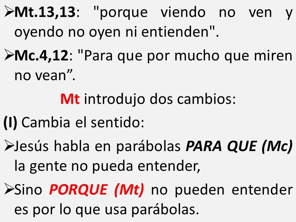Mt.13,13: