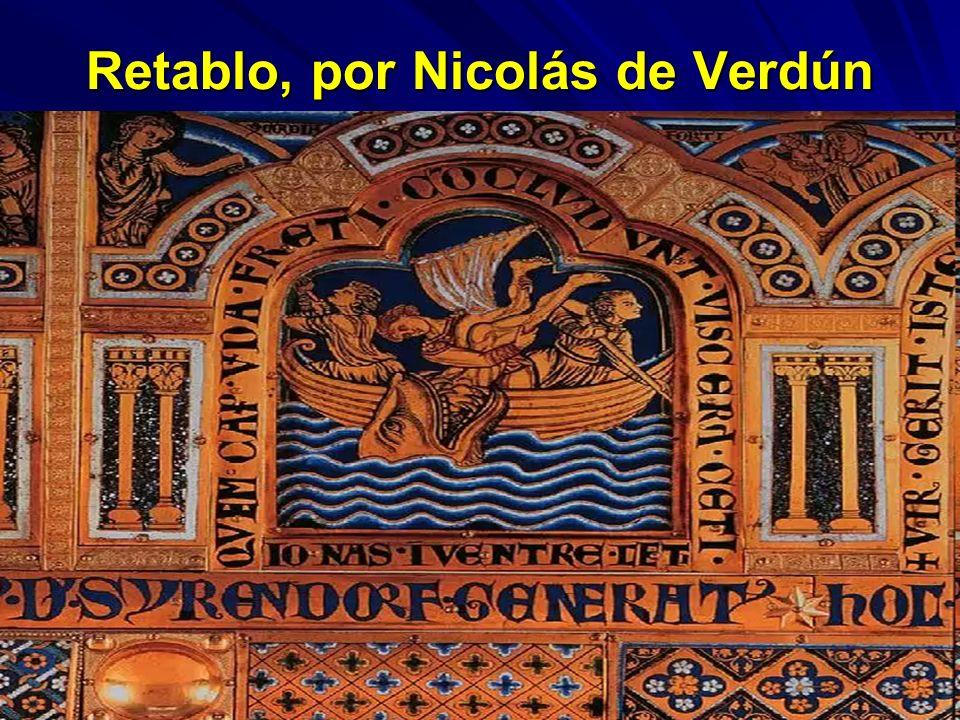 Retablo, por Nicolás de Verdún