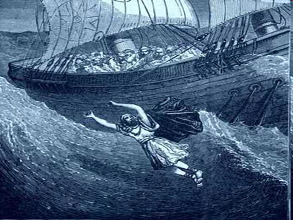 3º.Jonás se levanta, pero para huir lejos de Dios.