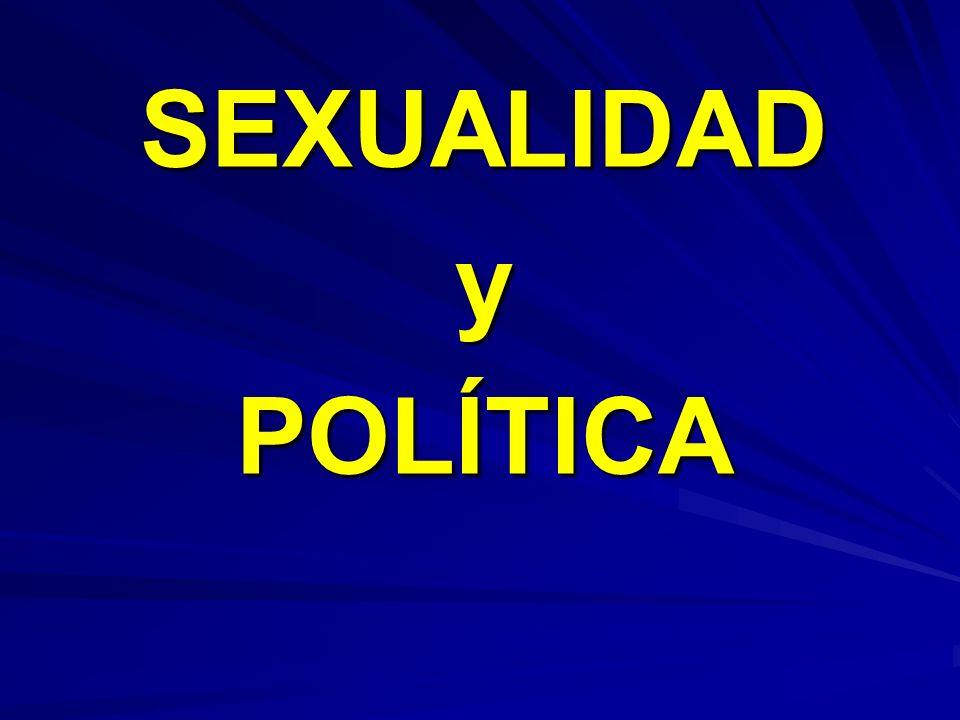 SEXUALIDADyPOLÍTICA