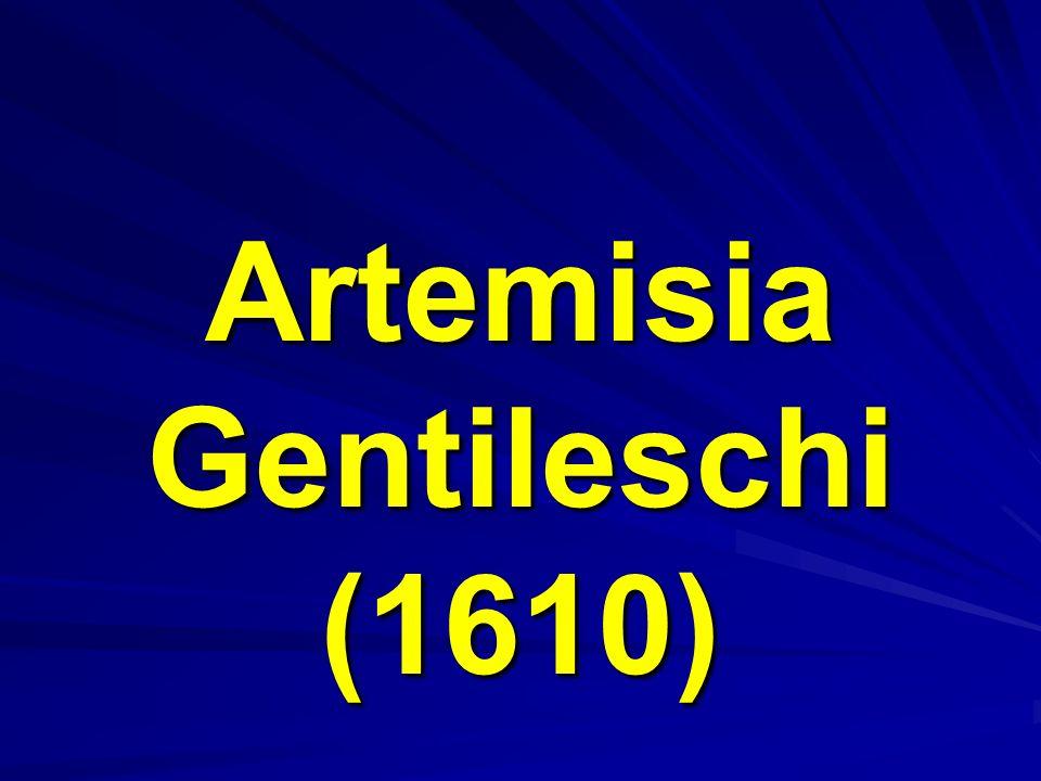 Artemisia Gentileschi (1610)