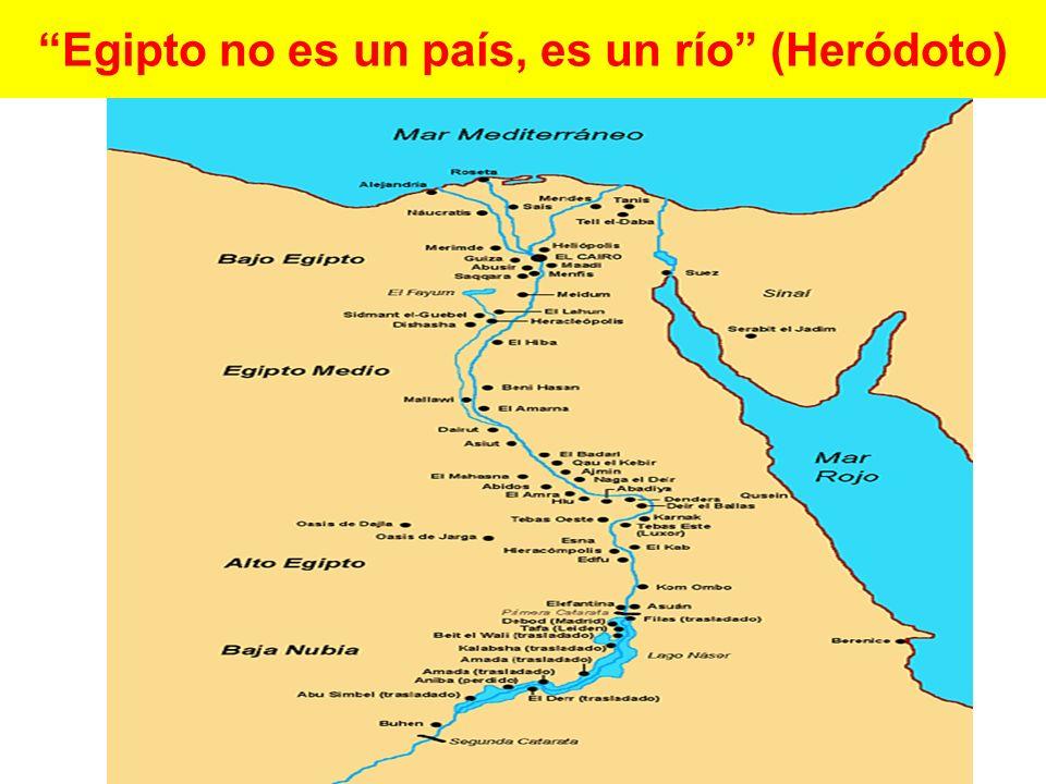 Egipto no es un país, es un río (Heródoto)