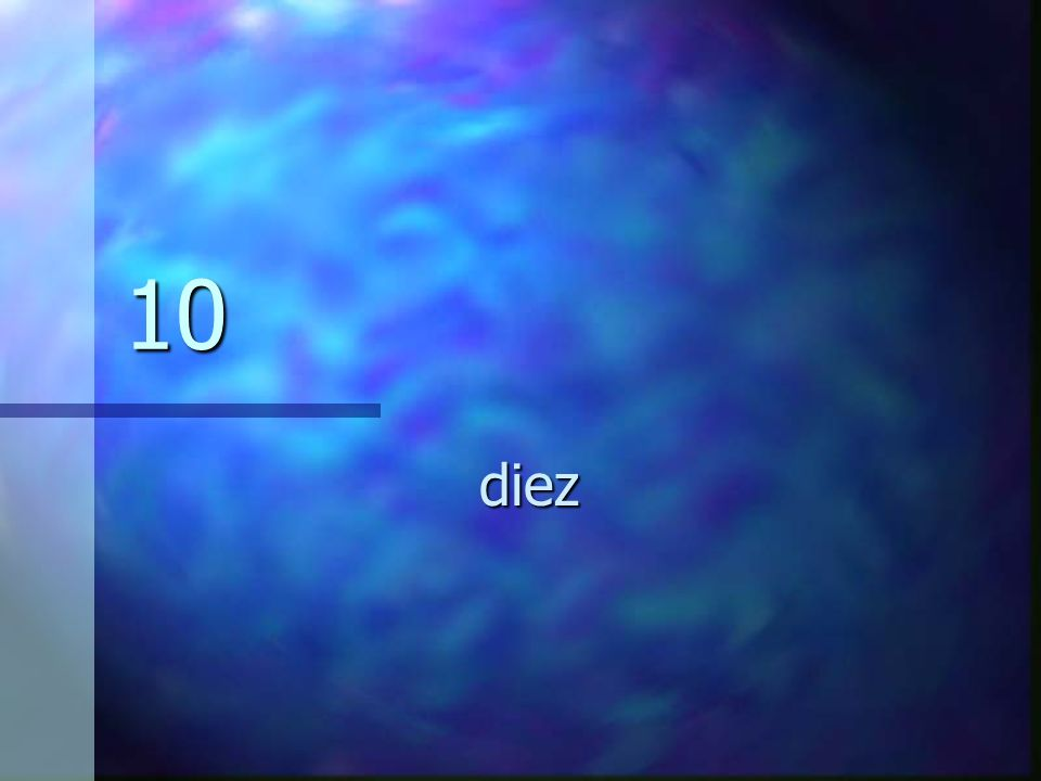 10 diez