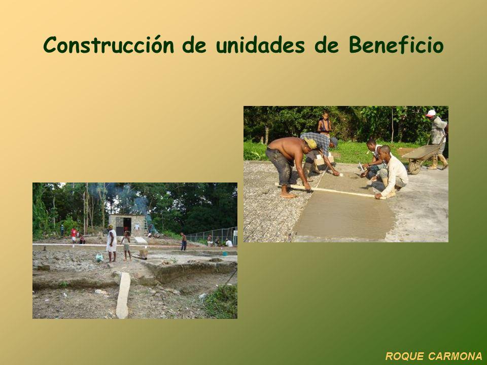 Construcción de unidades de Beneficio ROQUE CARMONA