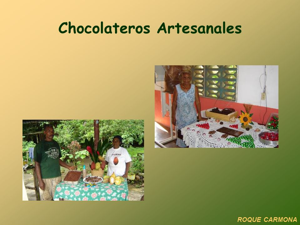 Chocolateros Artesanales ROQUE CARMONA