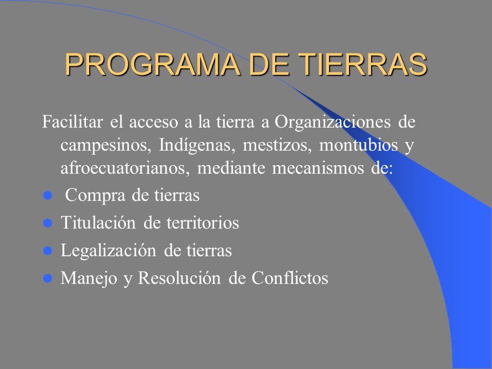 ANTECEDENTES Desde 1977 en el FEPP primó la firme voluntad de responder con realismo y objetividad de apoyar a las justas aspiraciones de las organiza