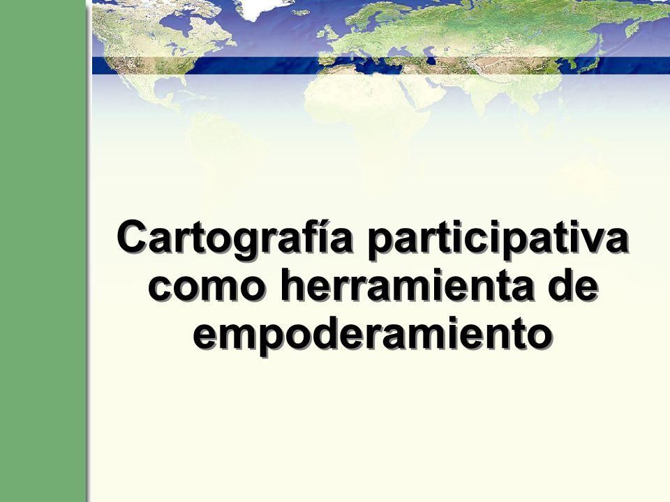 ¿Qué es cartografía participativa.