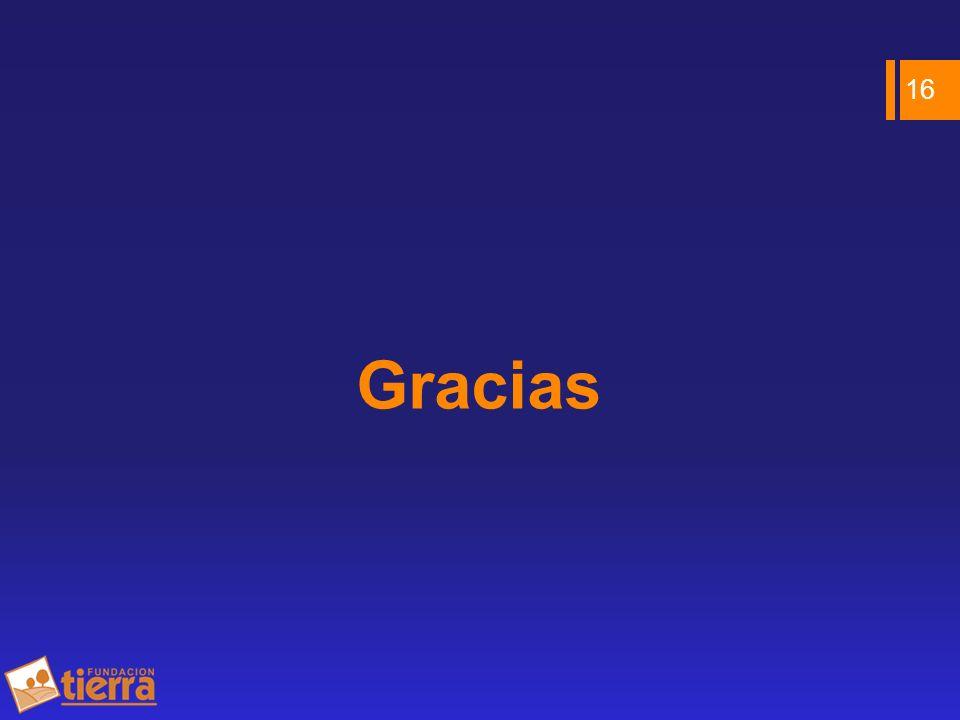 Gracias 16