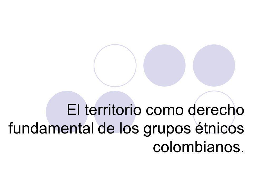 Soluciones Ubicar casos de tutela del derecho al territorio de grupos étnicos en Colombia, decididos por la Corte Constitucional Ubicar casos de tutela de derechos relativos a las relaciones del hombre con la tierra en campesinos occidentales.