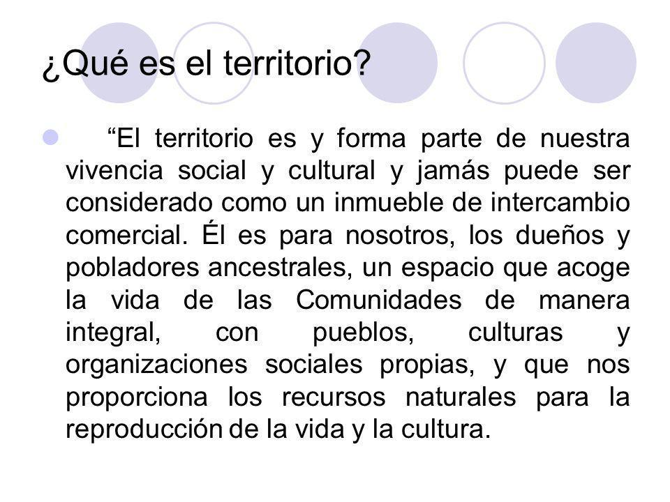 Derecho a la tierra y al territorio en Colombia Derecho al Territorio de comunidades indígenas Derecho al Territorio de Comunidades negras Derecho fundamental a la posesión (relacionado con la Garantía de Derechos civiles)