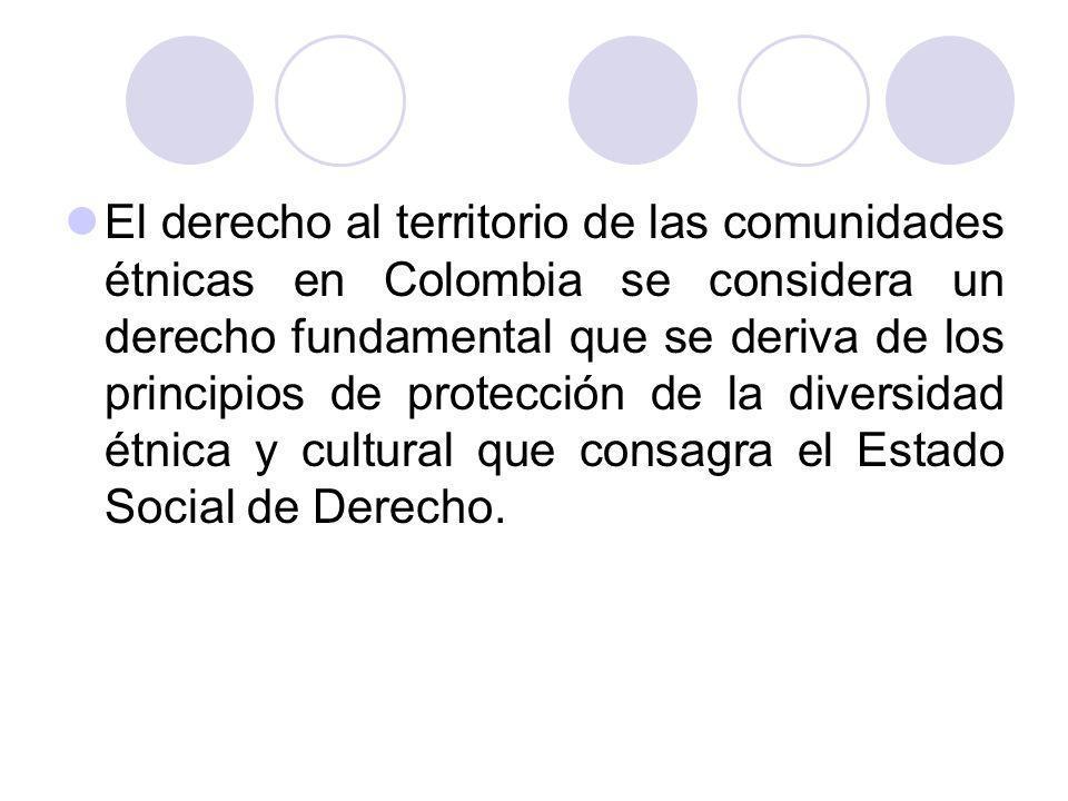 El derecho a la tierra y al territorio en la jurisprudencia constitucional