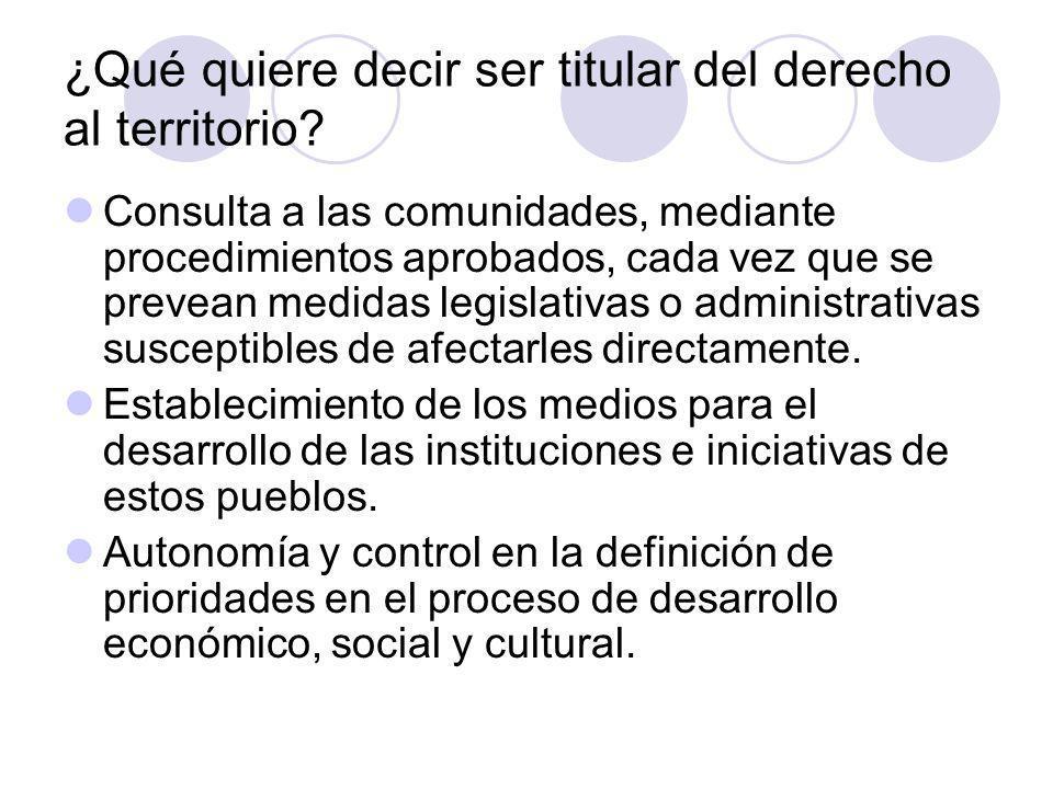 Definición del contenido del derecho a la tierra y al territorio en Colombia Desde la Constitución Política de 1991: - Artículos 64 y 66 - Artículos 7, 330 y Transitorio 55 2.