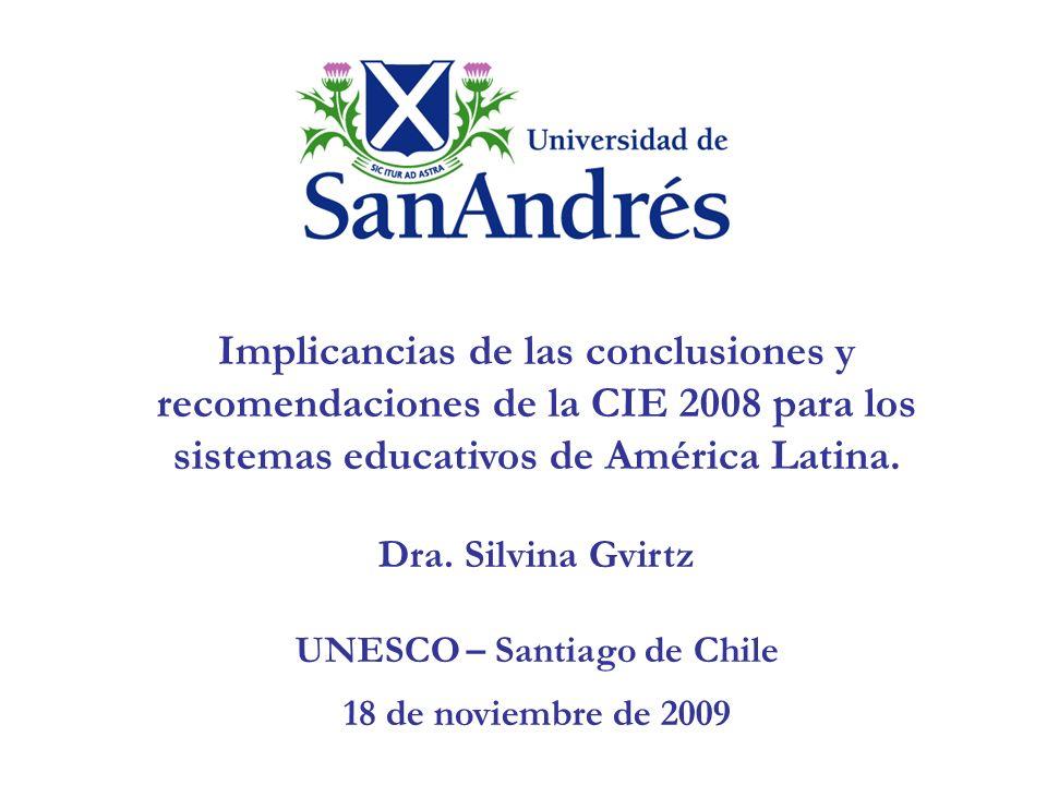 Documento realizado a partir de la presentación digital en conferencia pública realizada por el Ministerio de Educación del Gobierno de Chile, el 4 de Diciembre de 2007.