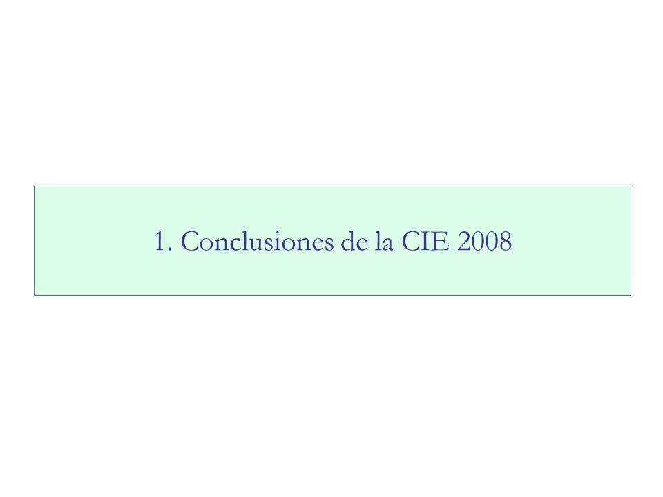 País19992006 Argentina6,1 %6,4 % Brasil24,0 %18,7 % Chile2,2 %2,3 % Paraguay7,8 %5,1 % Perú10,2 %8,7 % Uruguay7,9 %7,0 % Fuente: Educación para Todos, UNESCO (2009) EFICIENCIA INTERNA – América Latina Repitencia para todos los grados de primaria Políticas públicas