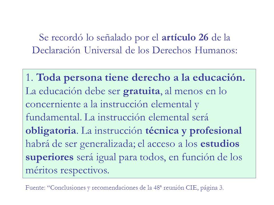Fuente: Educación para Todos, UNESCO (2009) EFICIENCIA INTERNA – América Latina Repitencia por grado (datos 2004) PaísPrimeroSegundoTerceroCuartoQuinto Argentina9,8%6,7%5,9%5,8%5,4% Brasil27,3%20,5%15,4% … Chile2,5%2,2%2,0%1,8%… Paraguay10,2%6,9%5,1%3,4%2,0% Perú5,1%14,0%11,2%8,4%7,2% Uruguay13,9%9,5%6,8%5,4%4,2%