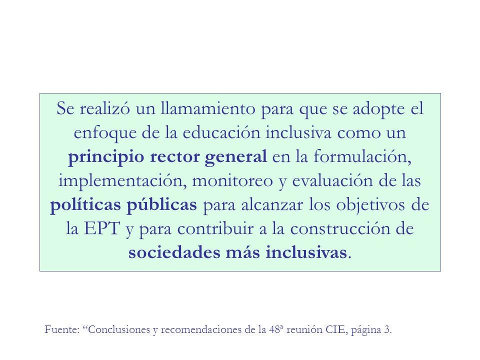 POLITICAS COMPENSATORIAS A NIVEL NACIONAL SISTEMA EDUCATIVO excluidos del sistema Concepción tradicional Concentrar esfuerzos en POLITICAS ANTICIPATORIAS