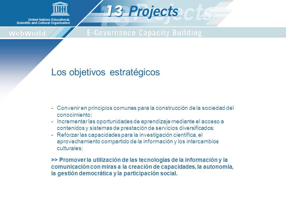 Ubicación institucional del proyecto UNESCO SHSSCEDCLT Proyecto E-Governance Una iniciativa conjunta del Sector de Ciencias Sociales y el Sector de la Comunicación y la Información.