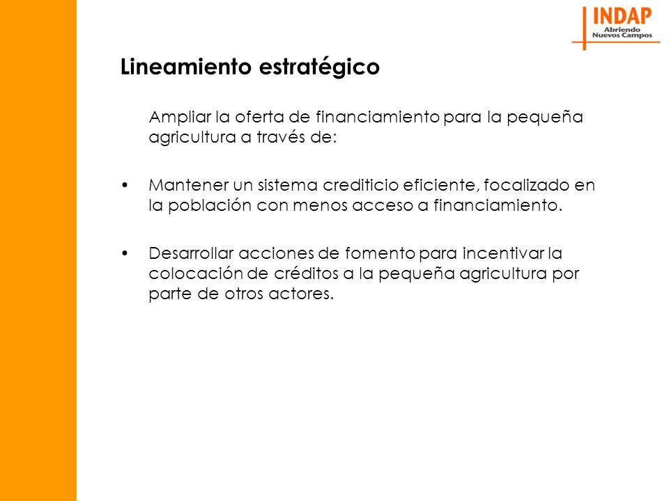 Algunas conclusiones El discurso coherente y los incentivos asociados a la Articulación Financiera generados por INDAP para sus trabajadores, El desarrollo y los buenos resultados alcanzados por la industria del microcrédito en Chile a nivel urbano