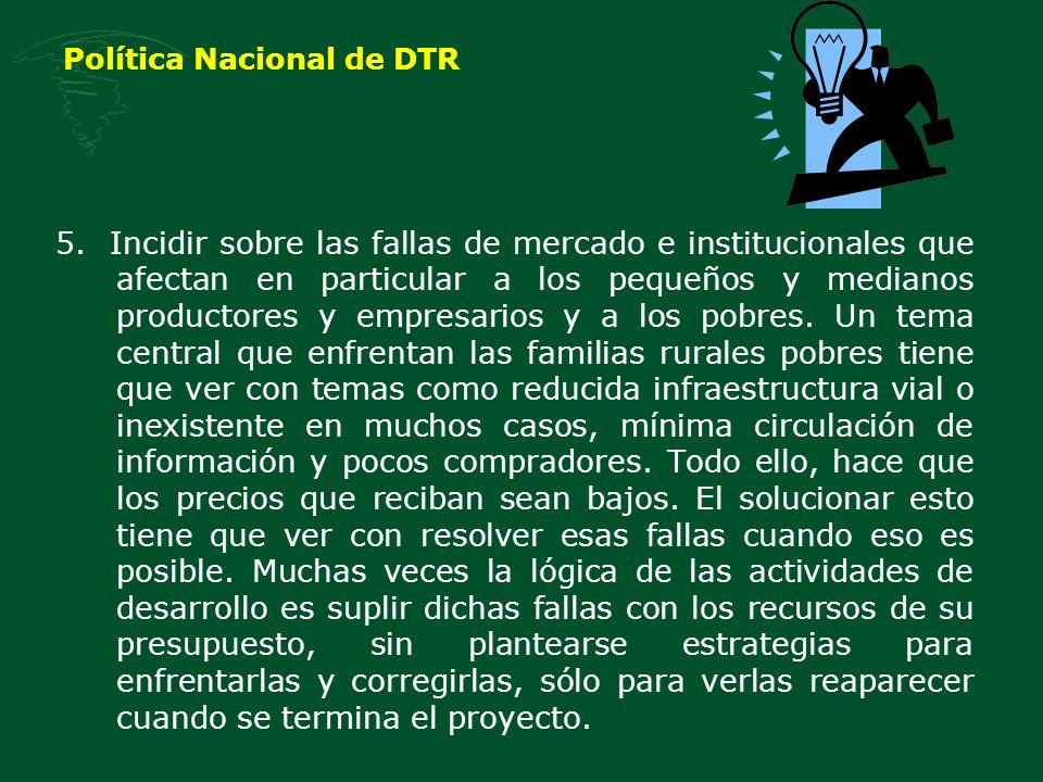 Política Nacional de DTR 5.