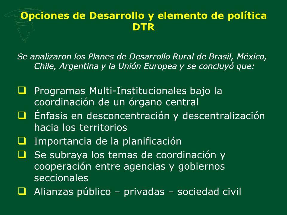 Política Nacional de DTR 7.