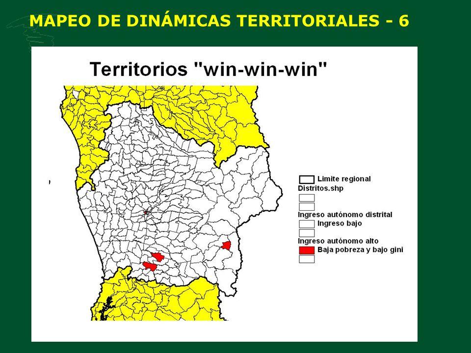 MAPEO DE DINÁMICAS TERRITORIALES - 6