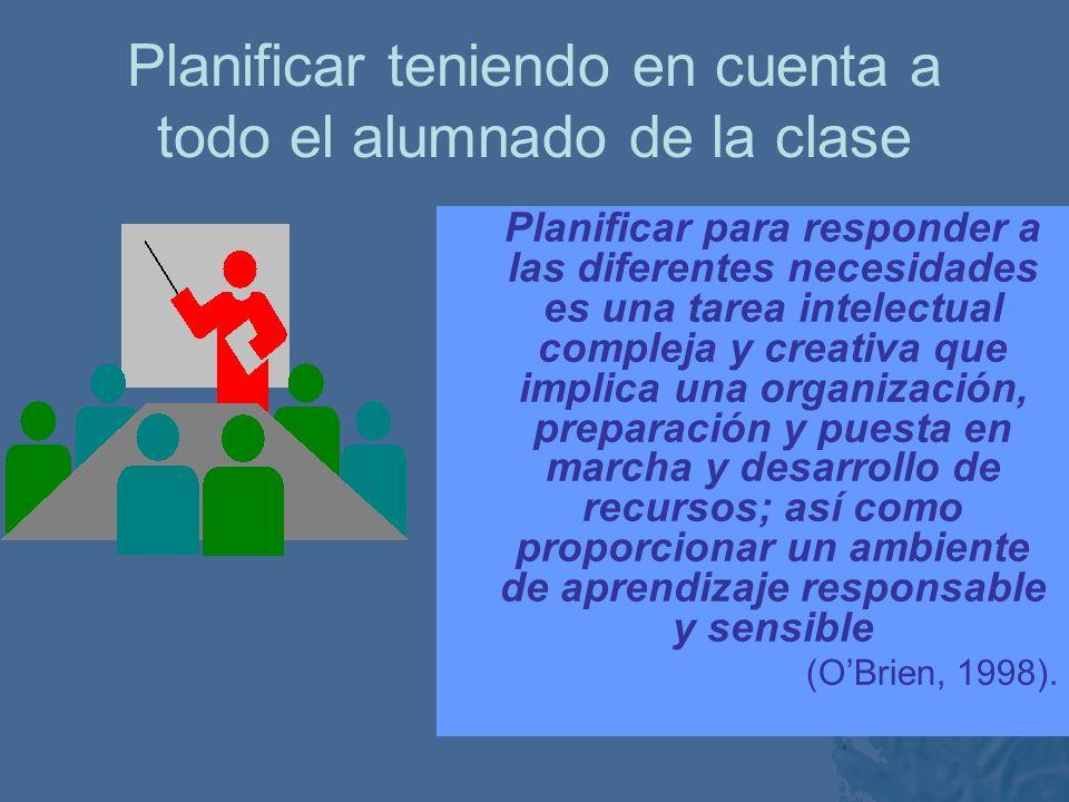 Modo diferente de ver las dificultades de aprendizaje (Ainscow, 1995 ) -Las dificultades se definen según las tareas, las actividades y las condicione