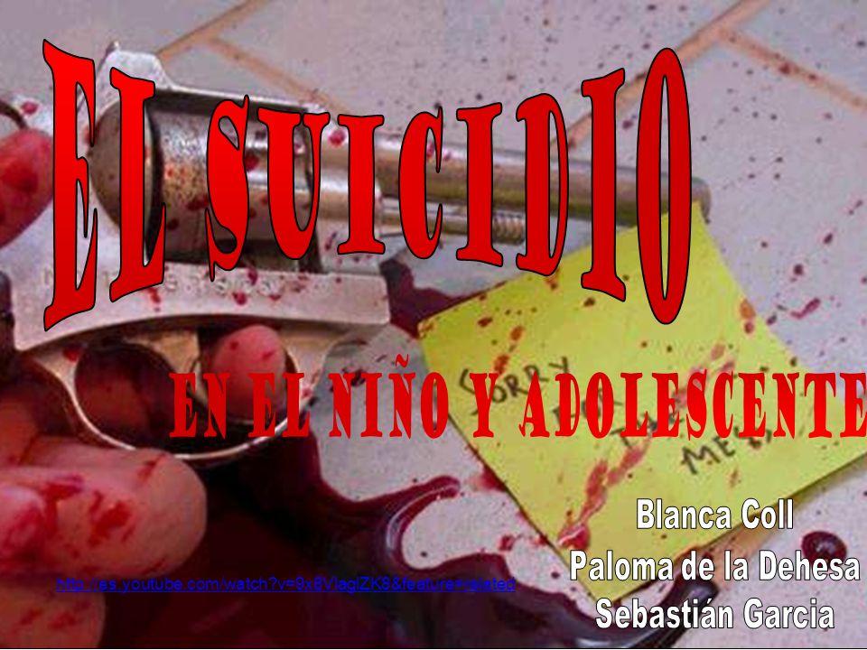RECORRIDO: Ideación Ideación Amenaza Amenaza Tentativa de suicidio Tentativa de suicidio Suicidio: Muerte que resulta de un acto realizado Suicidio: Muerte que resulta de un acto realizado por la misma víctima, con plena conciencia y voluntad.