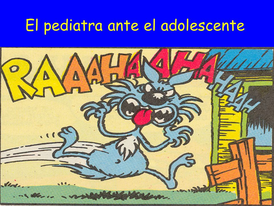 El pediatra ante el adolescente Pediatra