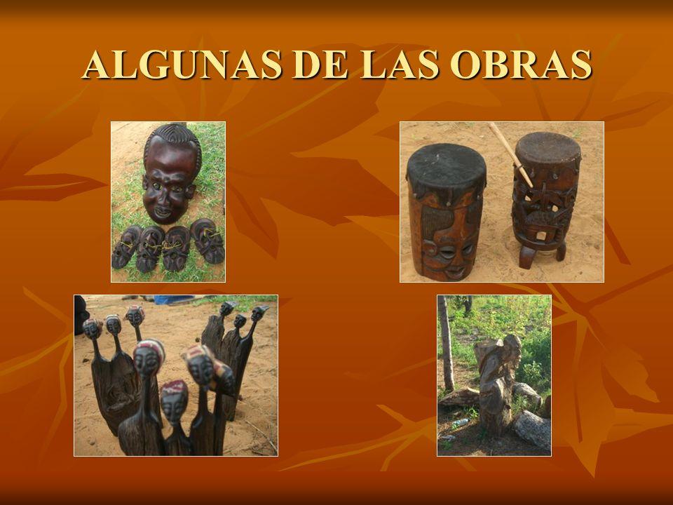 ALGUNAS DE LAS OBRAS