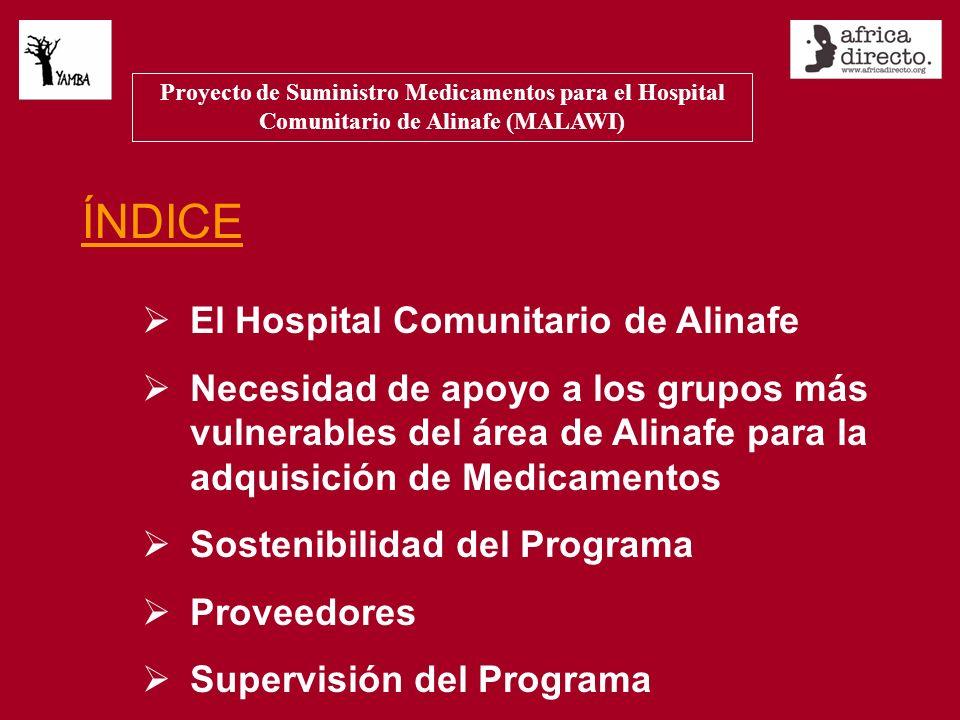 La Administración del Hospital de Alinafe garantiza la puesta en marcha del programa.