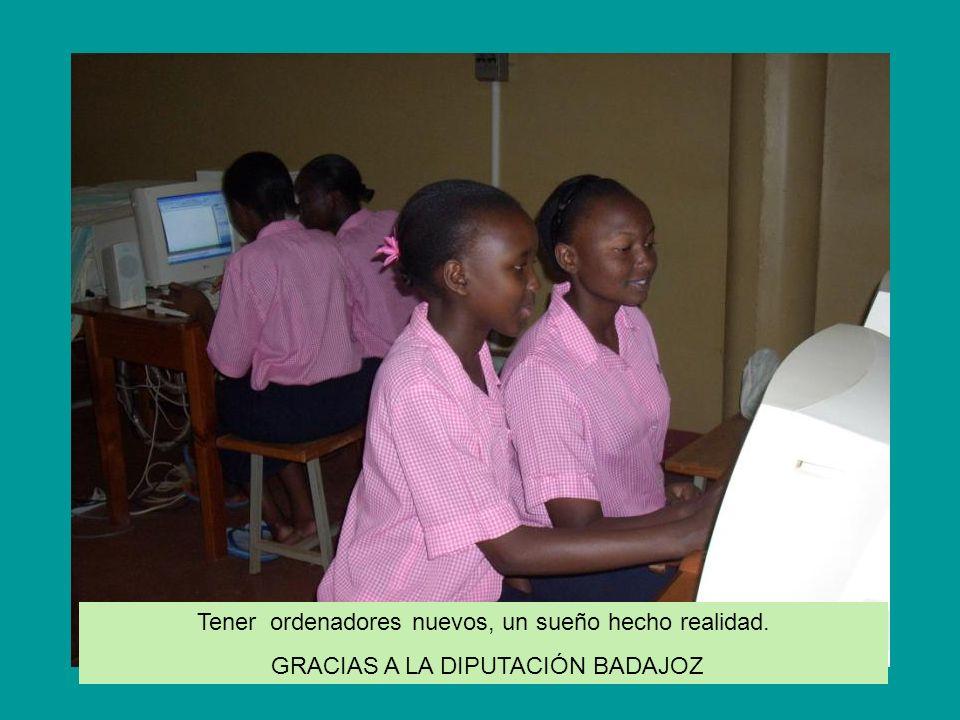 Misioneras africanas y españolas dirigen la escuela