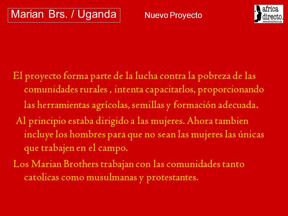 Nuestro primer encuentro ha sido con la comunidad en Nyori Marian Brs. / Uganda Nuevo Proyecto