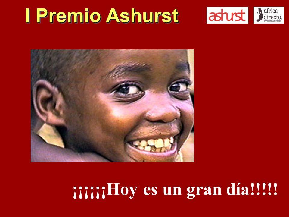 I Premio Ashurst ¡¡¡¡¡¡Hoy es un gran día!!!!!
