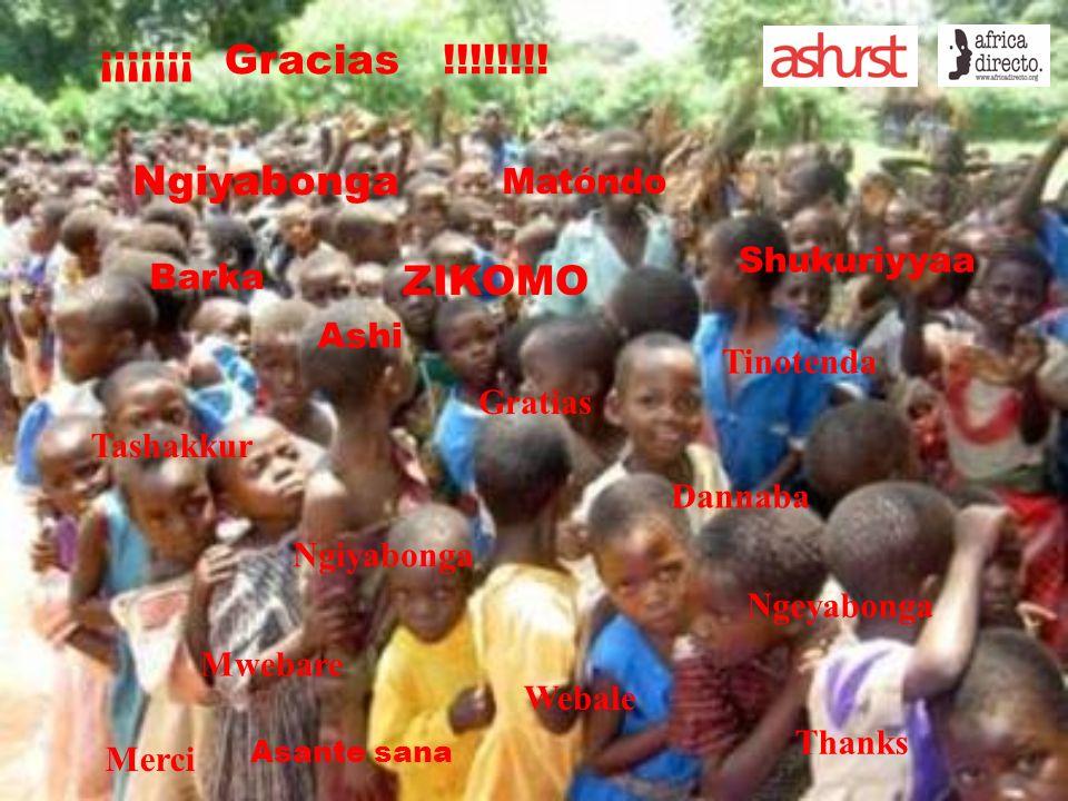 Gratias Ngiyabonga Shukuriyyaa Barka Tashakkur Dannaba Ashi Tinotenda Matóndo Ngiyabonga Ngeyabonga Mwebare Webale Merci Thanks ¡¡¡¡¡¡¡ Gracias !!!!!!!.