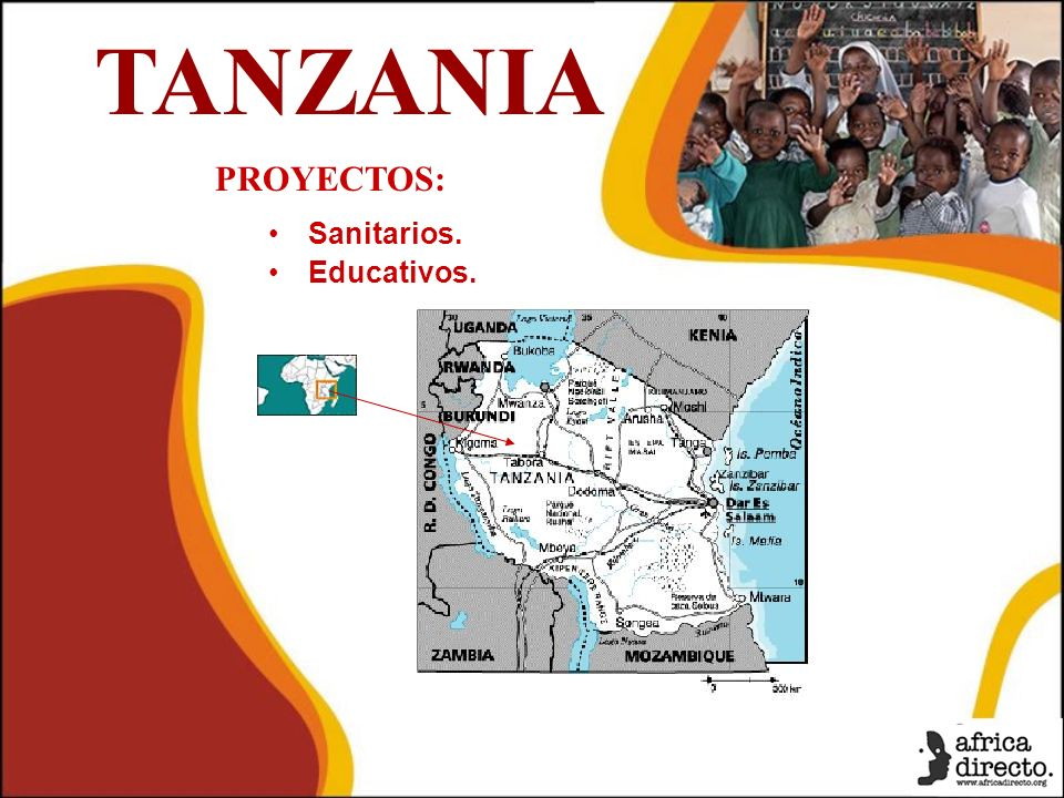TANZANIA PROYECTOS: Sanitarios. Educativos.