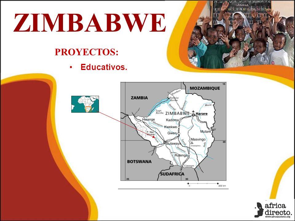 ZIMBABWE PROYECTOS: Educativos.