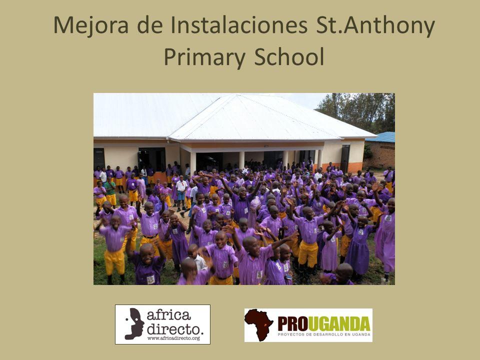 Mejora de Instalaciones St.Anthony Primary School