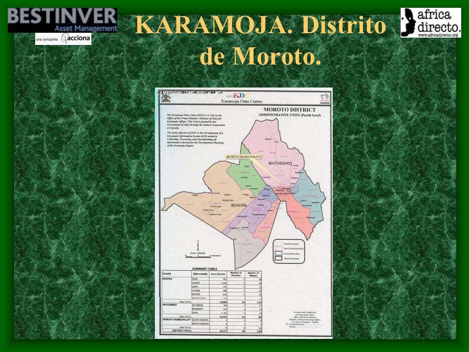 KARAMOJA. Distrito de Moroto.