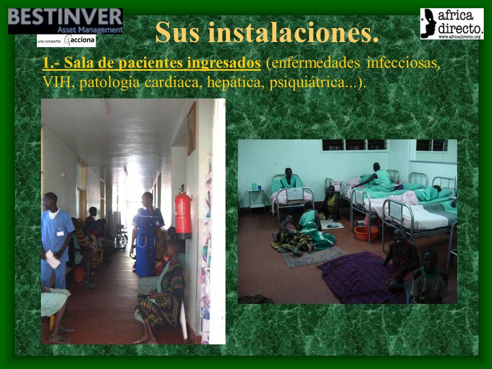 El proyecto: 3.Información, educación y comunicación con las comunidades.