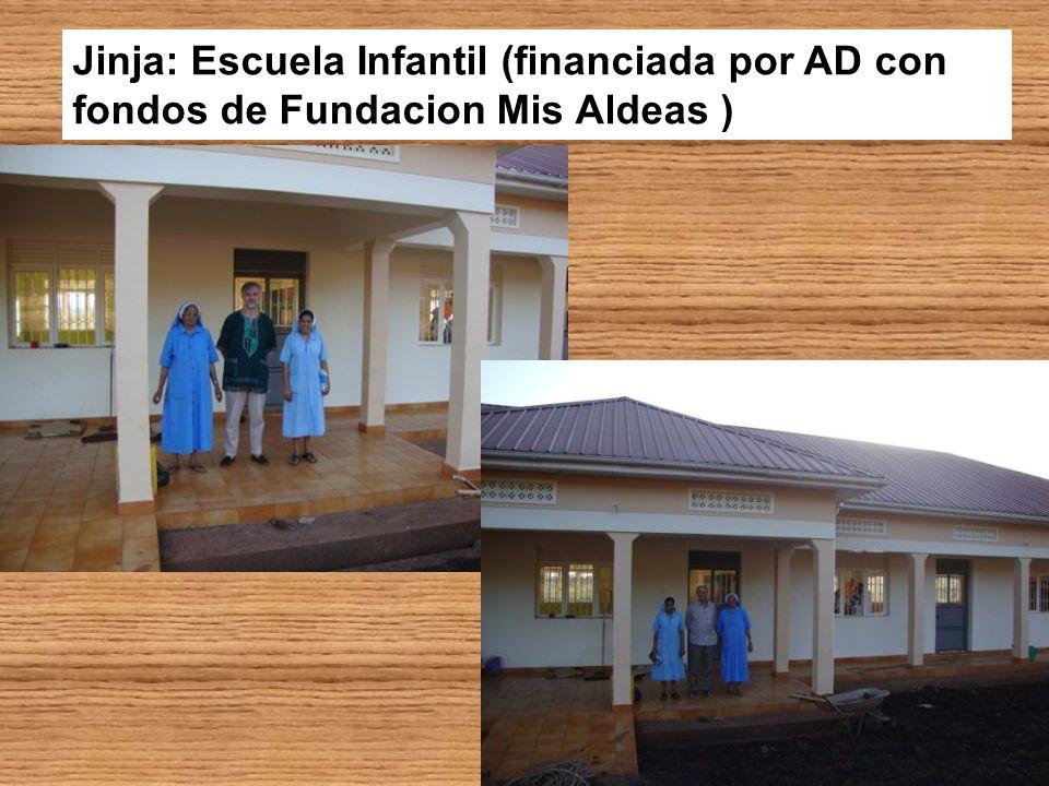 Jinja: Escuela Infantil (financiada por AD con fondos de Fundacion Mis Aldeas )