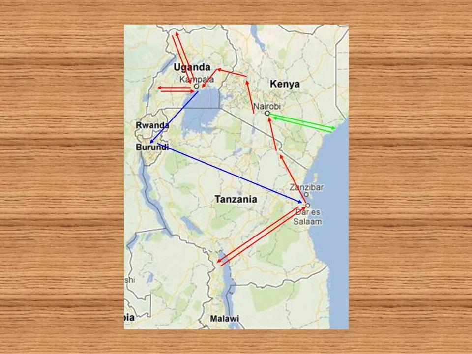 MONDAYTUESDAYWEDNESDAYTHURSDAYFRIDAYSATURDAYSUNDAY 17 Departure from Madrid 18 Bus Kitale-Tomás Herreros Kenya Pokot Area 19 Visit Projects (Combonianas y Tomas Herreros) Chelopoy-Amakuriat / Kenya - Pokot Area 20 Trip to Uganda Visit Jinja School 21 Jinja Trip to Kampala Uplift Project Night bus to Yumbe 22 Visit Yumbe School and Microcredits.